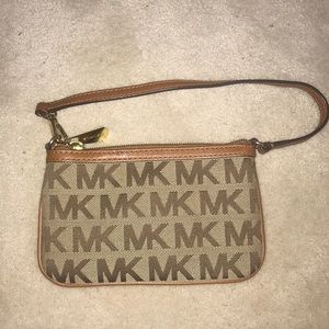 Michael Kors small clutch with strap